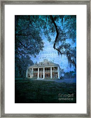 The Sugar Palace - River Road Blues Framed Print by Lianne Schneider