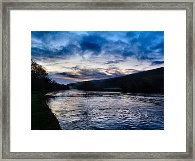 The Suir Ireland. Framed Print by Debra Collins