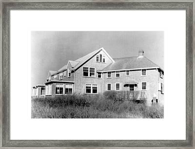 The Summer Home Of President John F Framed Print by Everett