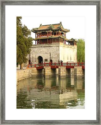 The Summer Palace Framed Print by Richard Nowitz
