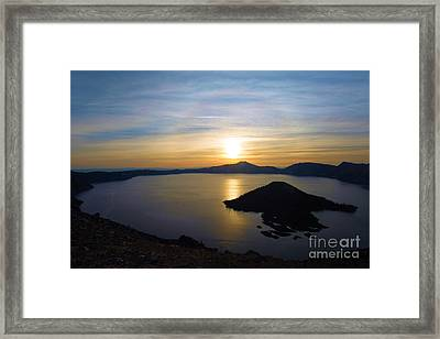 The Sun And The Wizard Framed Print
