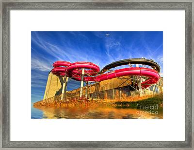 The Sun Centre Framed Print by Adrian Evans