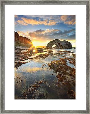 The Sun Fortress Framed Print