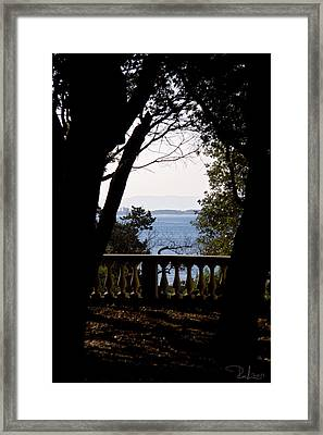 The Sun Out On The Sea Framed Print