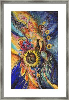 The Sunflower ... Visit Www.elenakotliarker.com To Purchase The Original Framed Print by Elena Kotliarker
