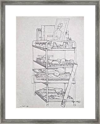 The Supplies Framed Print