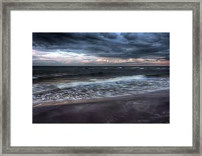 The Surf Framed Print by Matt Dobson