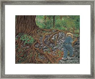 The Sweeper Framed Print by Jim Barber Hove