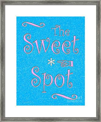 The Sweet Spot Framed Print by Cristophers Dream Artistry