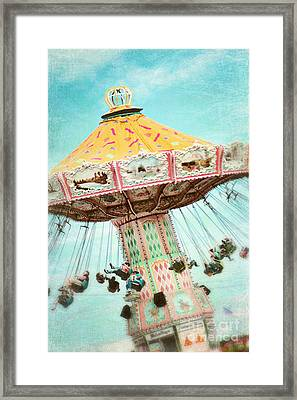 The Swings 2 Framed Print by Sylvia Cook