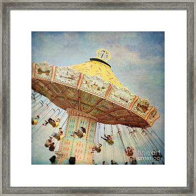The Swings Framed Print by Sylvia Cook