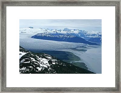 The Taku Glacier, Near Juneau Framed Print by Kenneth Garrett