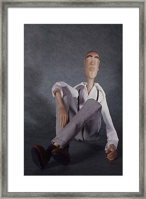 The Tall Guy Framed Print by Catherine Carr