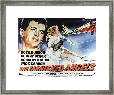 The Tarnished Angels, From Left Rock Framed Print by Everett