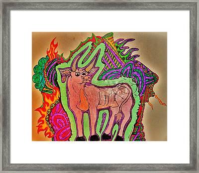 The Taurus Framed Print by Ragdoll Washburn