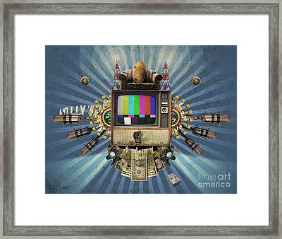 The Television Will Not Be Revolutionised Framed Print