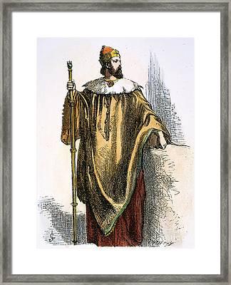 The Tempest: Prospero Framed Print