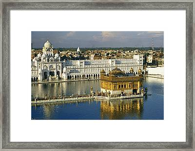 The Temple Complex Framed Print