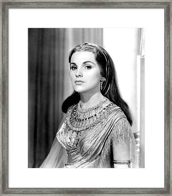 The Ten Commandments, Debra Paget, 1956 Framed Print by Everett