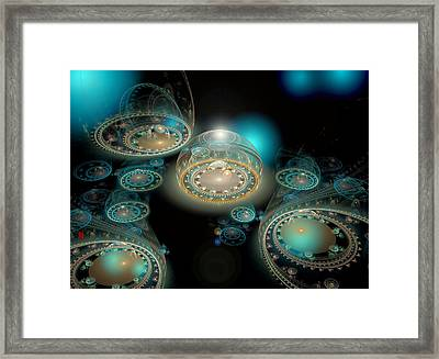 The Terminal Framed Print by Adam Vance