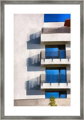 The Terraces Framed Print
