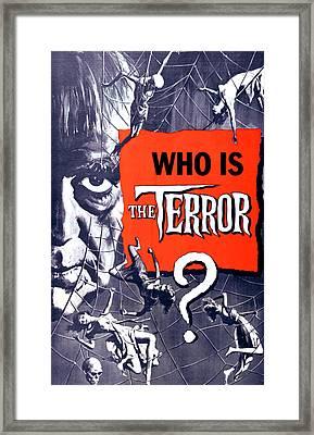 The Terror, Boris Karloff On 1 Sheet Framed Print by Everett