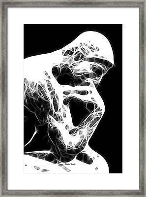 The Thinker Framed Print by Stephen Younts
