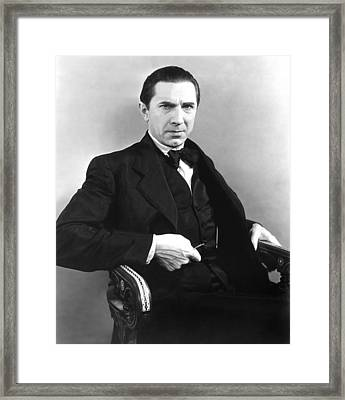 The Thirteenth Chair, Bela Lugosi, 1929 Framed Print by Everett