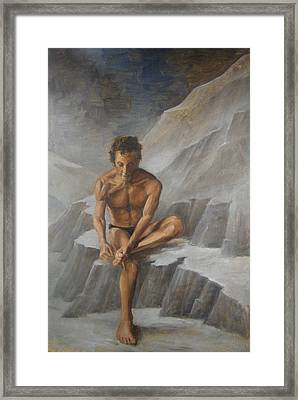The Thorn Picker Framed Print