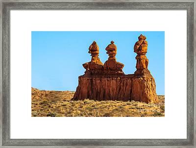 The Three Goblins Framed Print