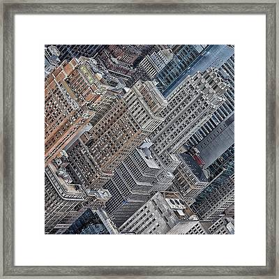 The Three Graces - Ny Framed Print