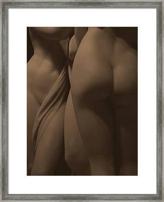 The Three Graces Voyeur II Framed Print