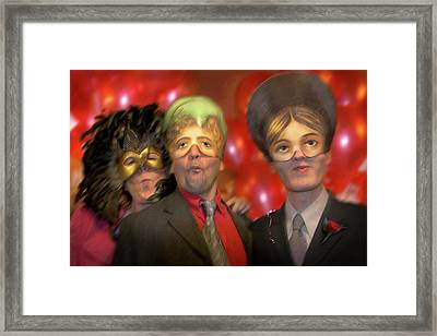 The Three Masketeers Framed Print