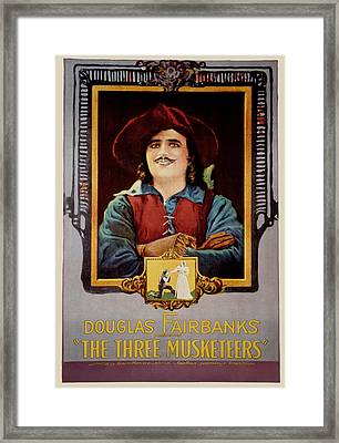 The Three Musketeers, Douglas Framed Print by Everett