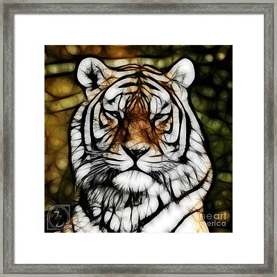 The Tiger Framed Print by The DigArtisT