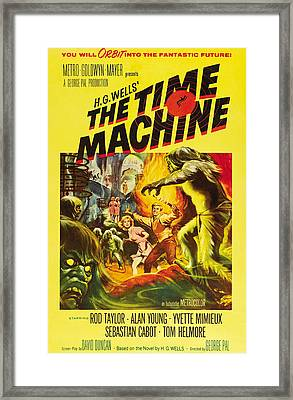 The Time Machine, Yvette Mimieux, Rod Framed Print