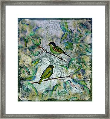 The Time Of Singing Birds Framed Print