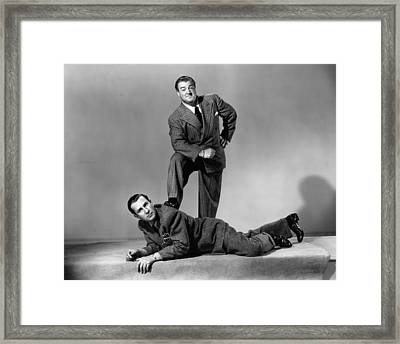 The Time Of Their Lives, From Left Bud Framed Print