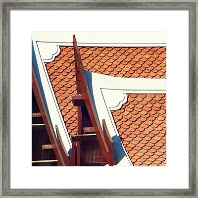 The Time To Repair The Roof Is When The Framed Print