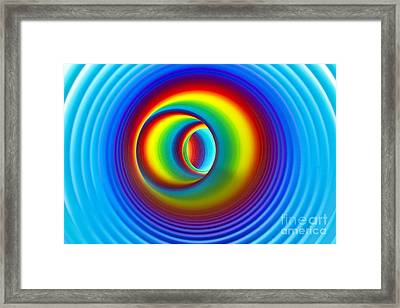 The Time Tunnel Framed Print by Catherine MacBride