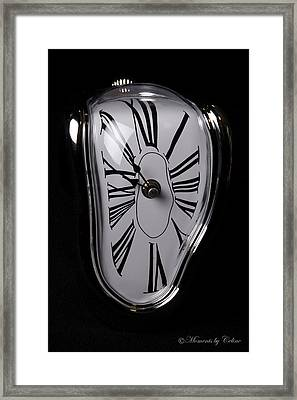The Timepiece Framed Print