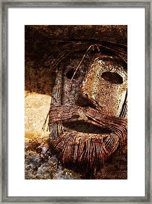 The Tin Man Framed Print by Kathy Clark