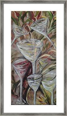 The Winetoast Framed Print