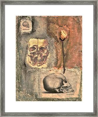 The Tomb Framed Print by Catherine Conroy