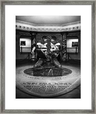 The Tomb Of John Paul Jones 1747-1792 Framed Print by Everett