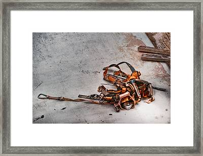 The Tool Belt Framed Print by Brenda Bryant