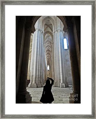 The Tourist Framed Print by Nabucodonosor Perez