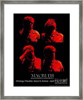 The Tourment Of Macbeth Framed Print