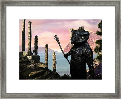 The Tower Guard Framed Print by Brian Warner