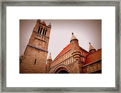 The Tower Framed Print by Jeanne Geidel-Neal